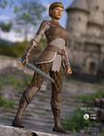 Alicia Armor Outfit G3F